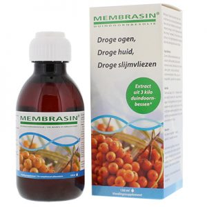 Membrasin vloeibaar met duindoornbesolie - Bij droge slijmvliezen en droge huid