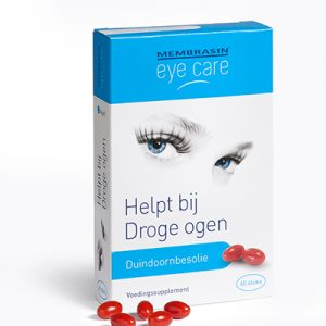 Membrasin eye care met duindoornbesolie - bij droge ogen