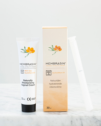 Membrasin Vaginal Vitality Cream bij droge intieme zones